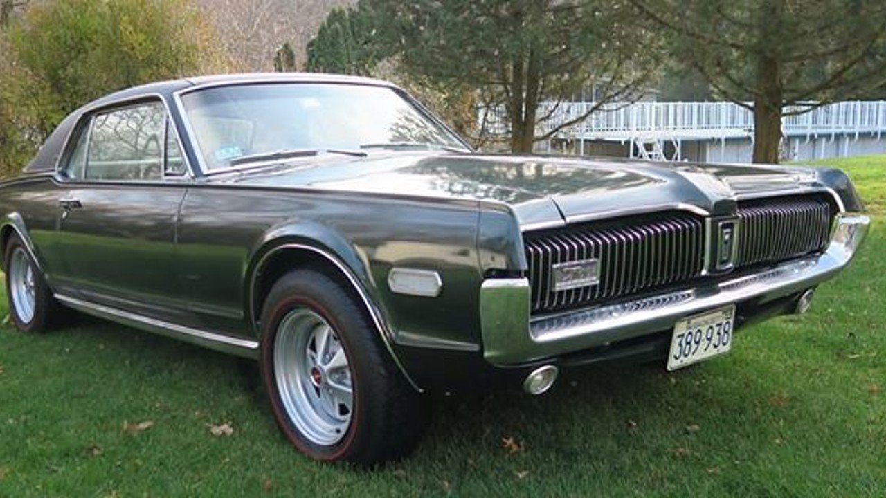 1968 mercury cougar for sale 100843232