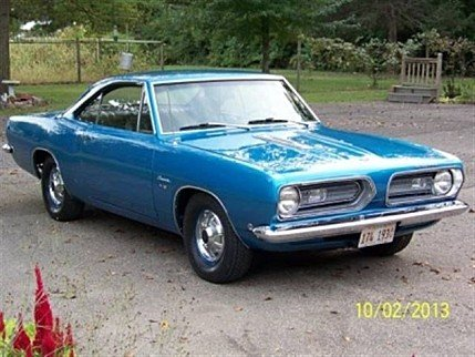 1968 Plymouth Barracuda for sale 100780611