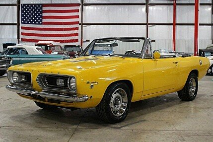 1968 Plymouth Barracuda for sale 100796035