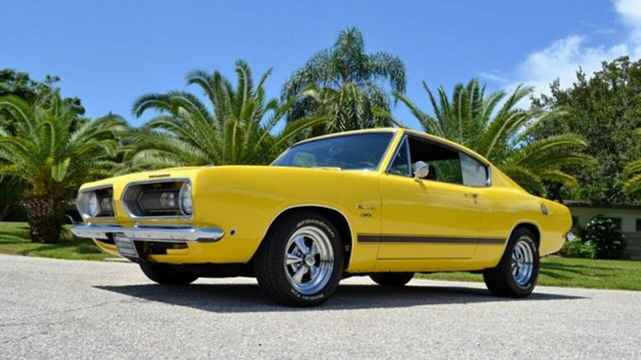 1968 Plymouth Barracuda for sale near Clearwater, Florida ...