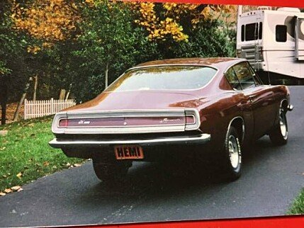 1968 Plymouth Barracuda for sale 100864637