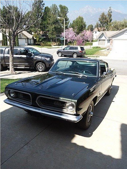 1968 Plymouth Barracuda for sale 100901861