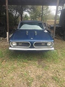 1968 Plymouth Barracuda For Sale 100982161