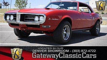 1968 Pontiac Firebird for sale 101024686