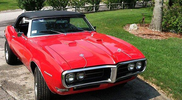1968 Pontiac Firebird Convertible for sale 101003420