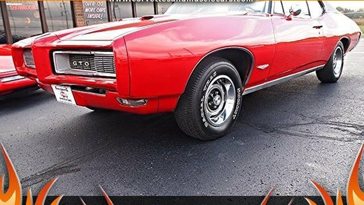 1968 Pontiac GTO for sale near North Canton, Ohio 44720 - Classics ...