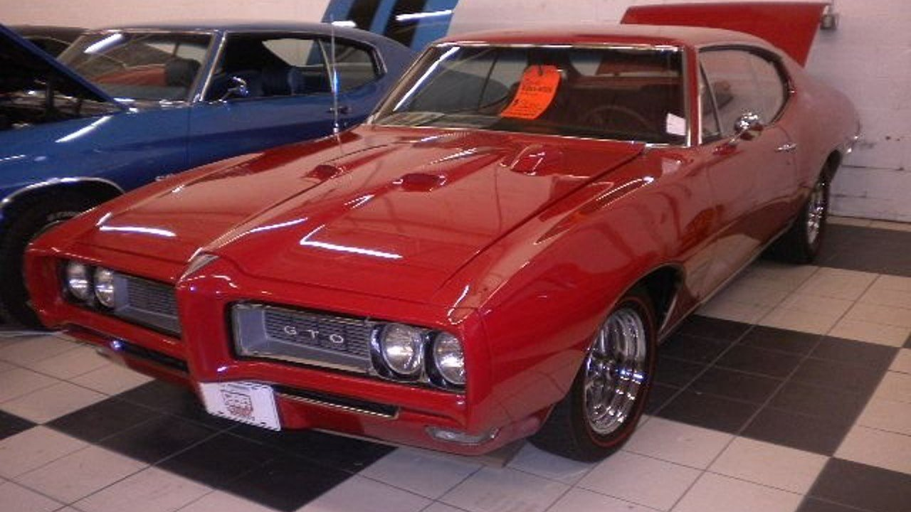 1968 Pontiac GTO for sale 100831840