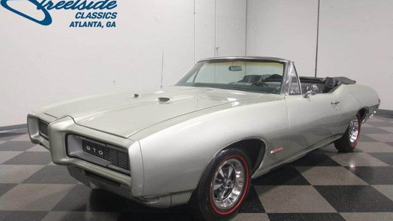 1968 Pontiac GTO for sale near Lithia Springs, Georgia 30122 ...