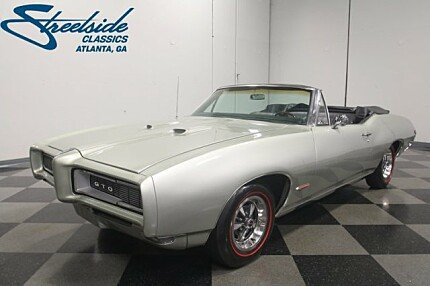 1968 Pontiac GTO for sale 100967807