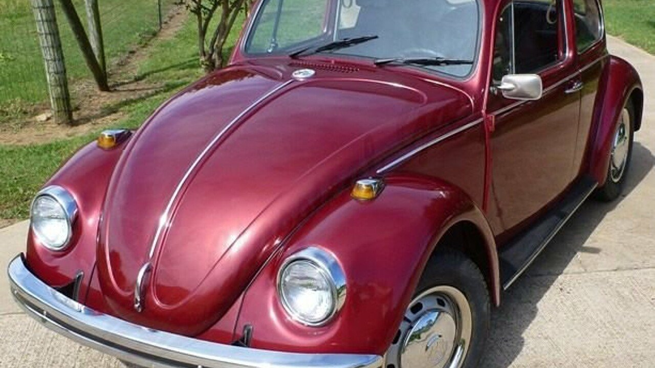 1968 Volkswagen Beetle For Sale Near Arlington Texas