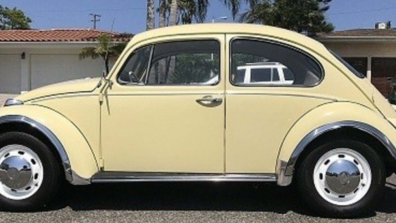 1968 volkswagen beetle for sale near las vegas nevada. Black Bedroom Furniture Sets. Home Design Ideas