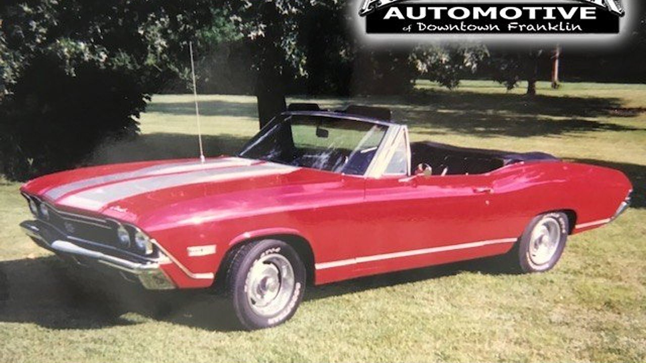 1968 chevrolet Chevelle for sale 101016790