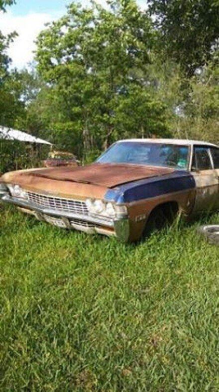 1968 chevrolet Impala for sale 100877659