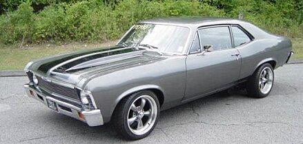 1968 chevrolet Nova for sale 101025726