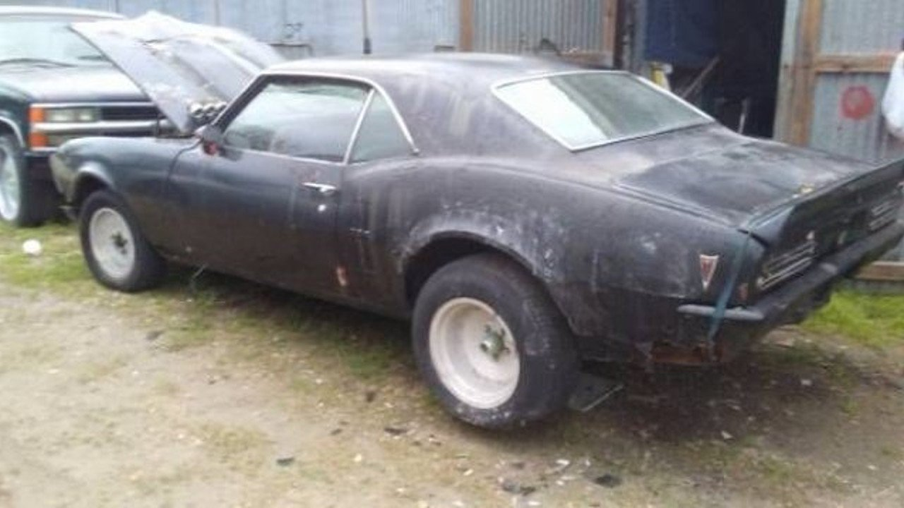 1968 pontiac Firebird for sale 100970670