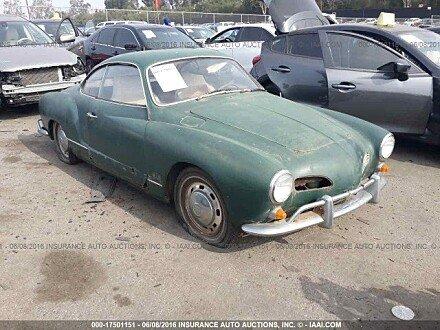 1968 volkswagen Karmann-Ghia for sale 101016270