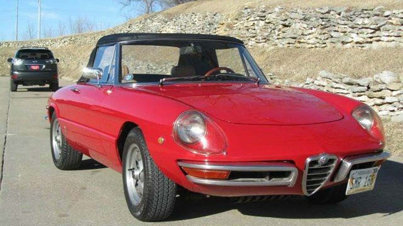 1969 alfa romeo spider for sale near omaha nebraska 68164. Black Bedroom Furniture Sets. Home Design Ideas