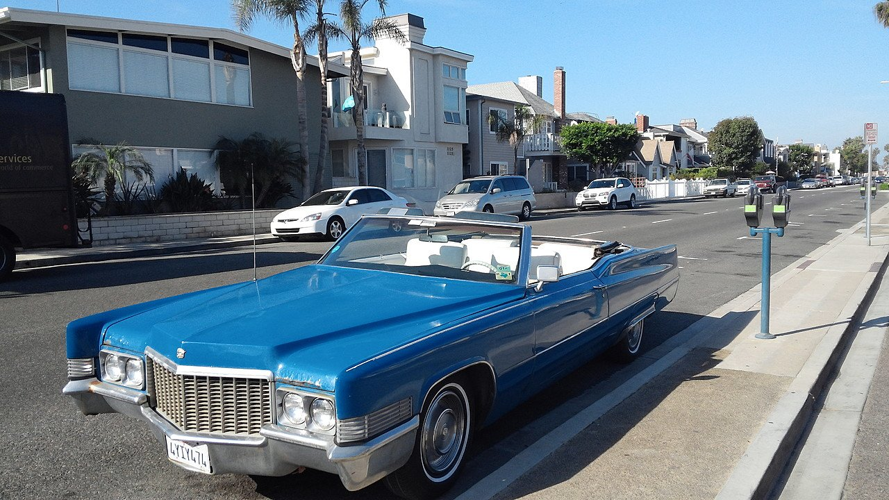 1969 Cadillac De Ville for sale near Newport Beach, California 92660 ...