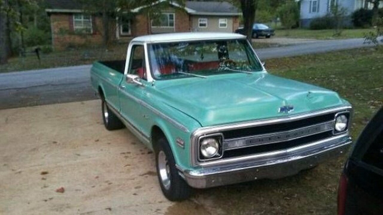 1969 Chevrolet C/K Truck for sale 100912930