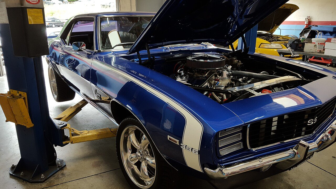 1969 Chevrolet Camaro SS for sale near Concord, California 94518 ...