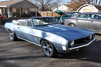 1969 Chevrolet Camaro SS Convertible for sale 100824876