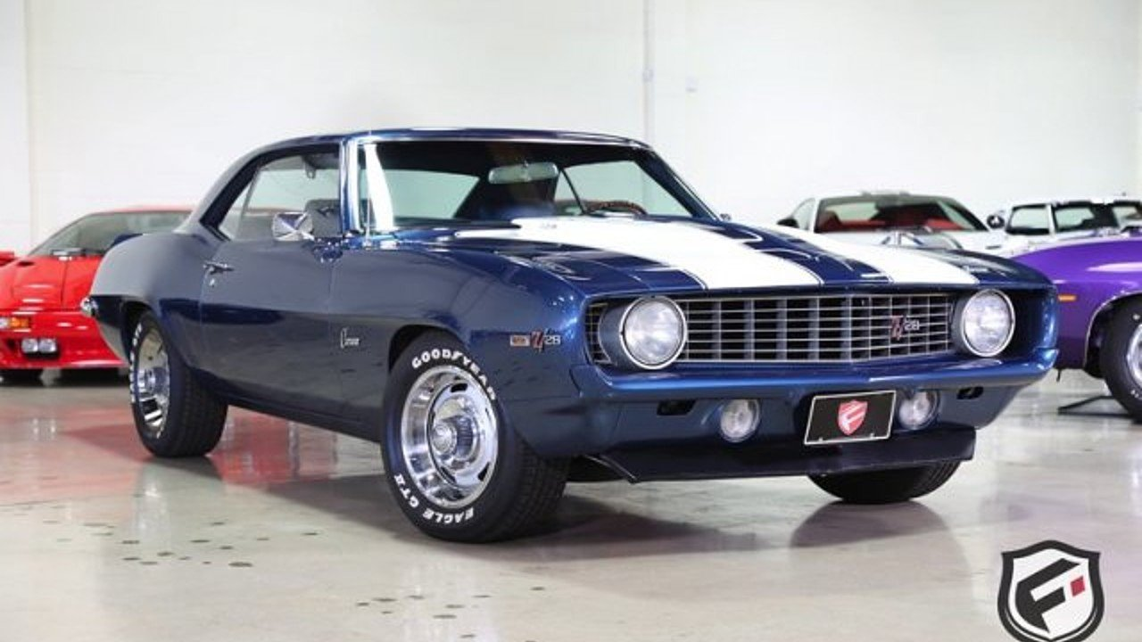 Chevrolet Camaro Muscle Cars and Pony Cars for Sale - Classics on ...
