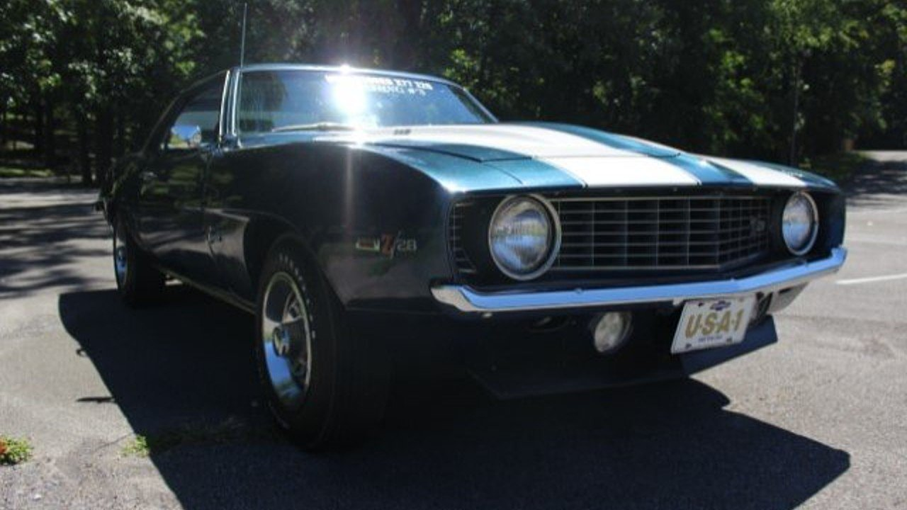 1969 Chevrolet Camaro Z28 for sale near Dickson, Tennessee 37055 ...