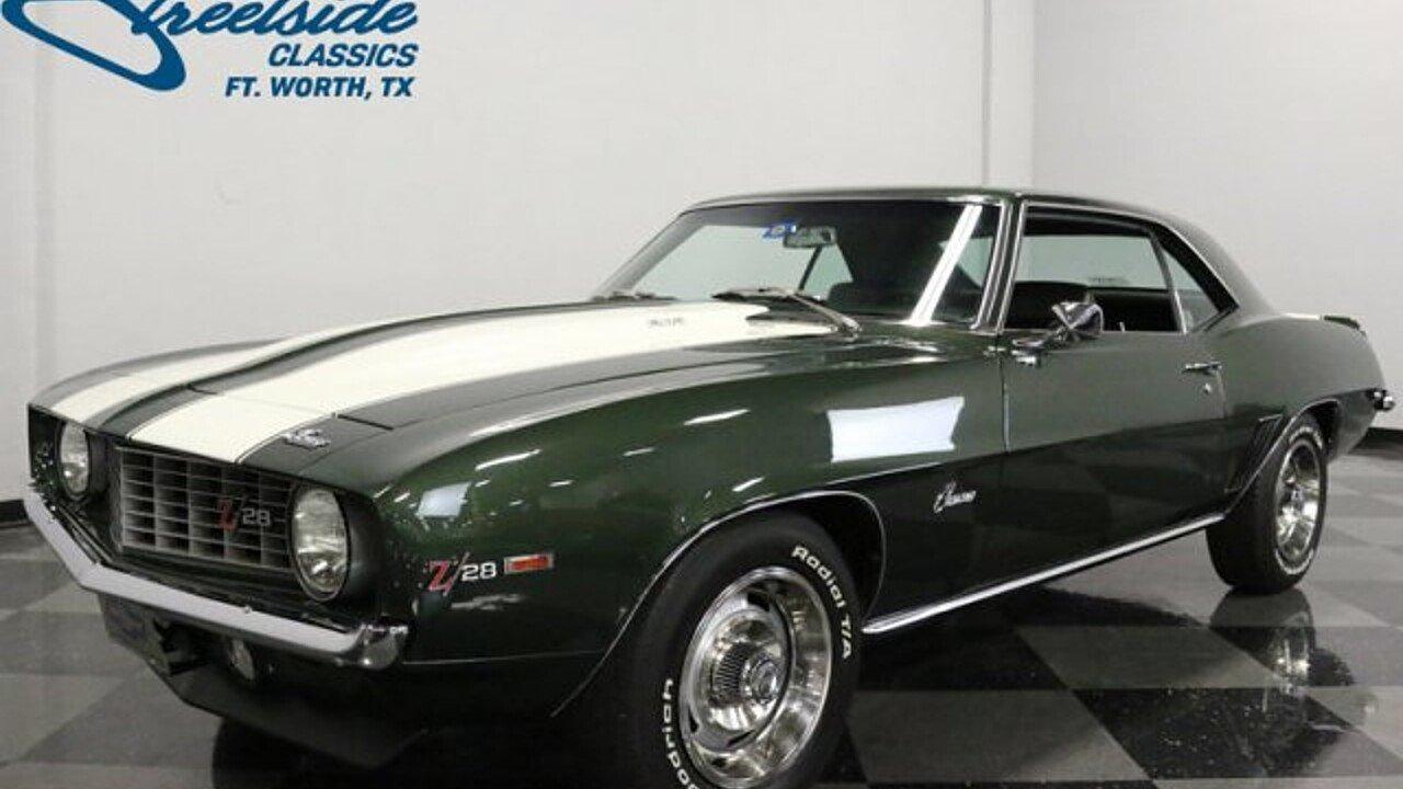 1969 Chevrolet Camaro for sale near Fort Worth, Texas 76137 ...