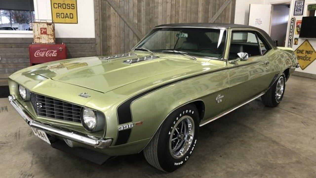 1969 Chevrolet Camaro for sale near Grand Rapids, Michigan 49548 ...