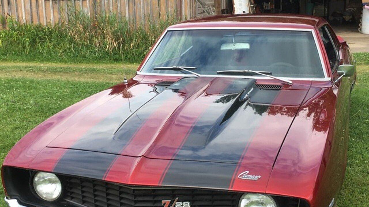 1969 Chevrolet Camaro Coupe for sale near Cortland, Ohio 44410 ...