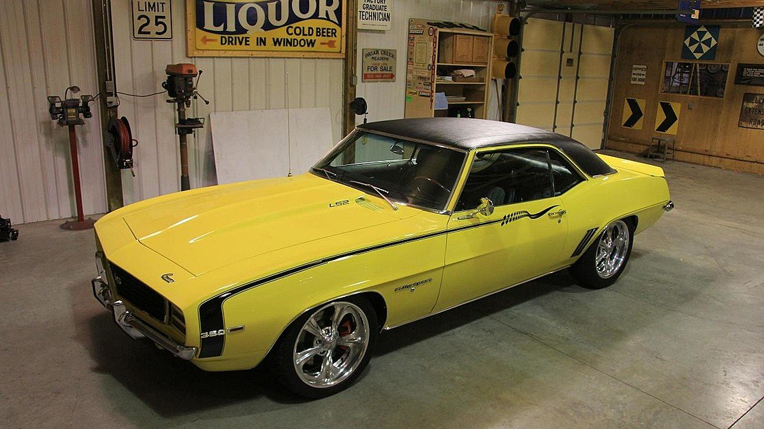 1969 Chevrolet Camaro RS Coupe for sale 101000942