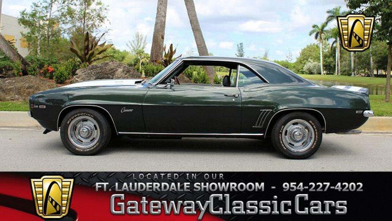 1969 Chevrolet Camaro Z28 for sale near O Fallon, Illinois 62269 ...