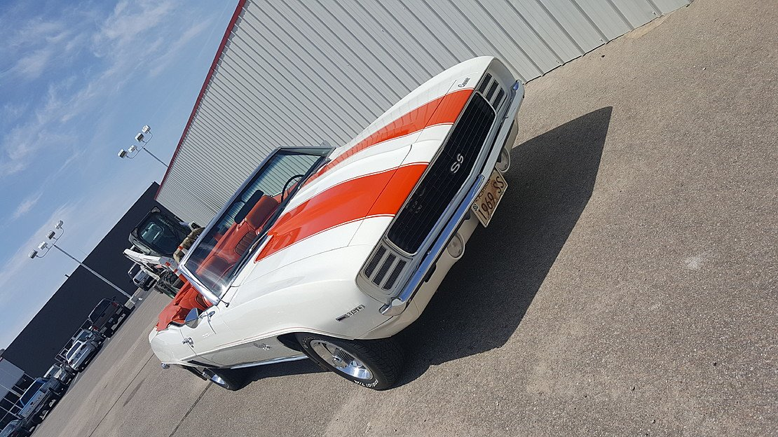 1969 Chevrolet Camaro SS Convertible for sale 101035869