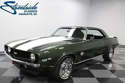 1969 Chevrolet Camaro Classics For Sale Classics On