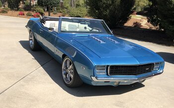 1969 Chevrolet Camaro RS Convertible for sale 100976668
