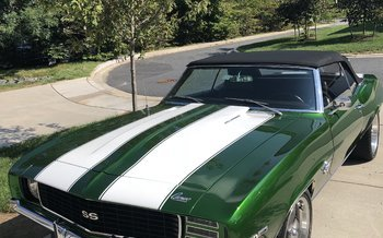 1969 Chevrolet Camaro SS Convertible for sale 101025827