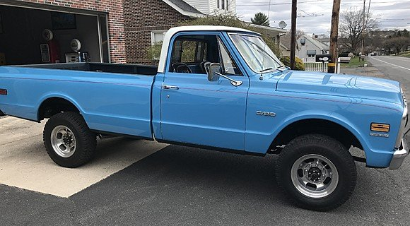 1969 Chevrolet G20 for sale 100981391