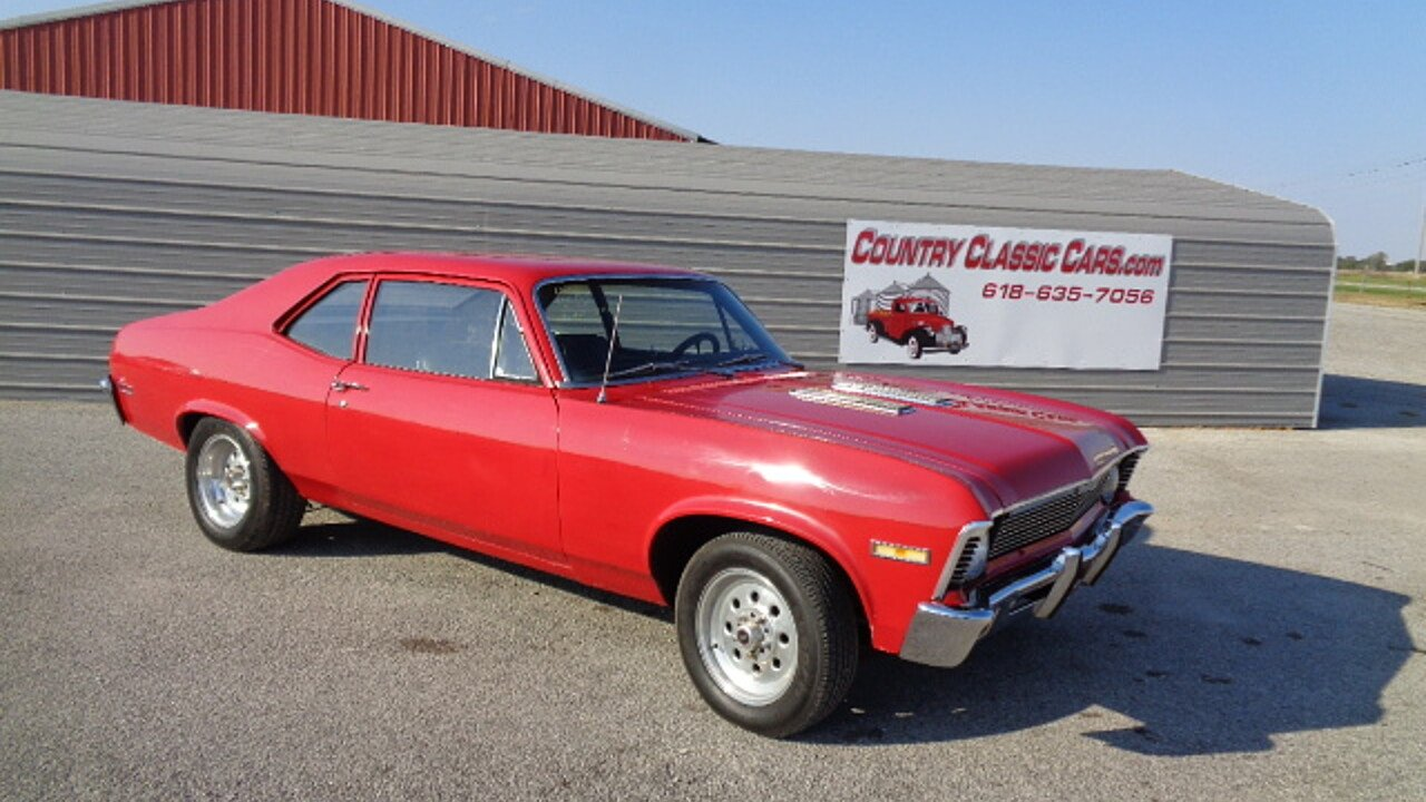 1969 Chevrolet Nova for sale near Staunton, Illinois 62088 ...