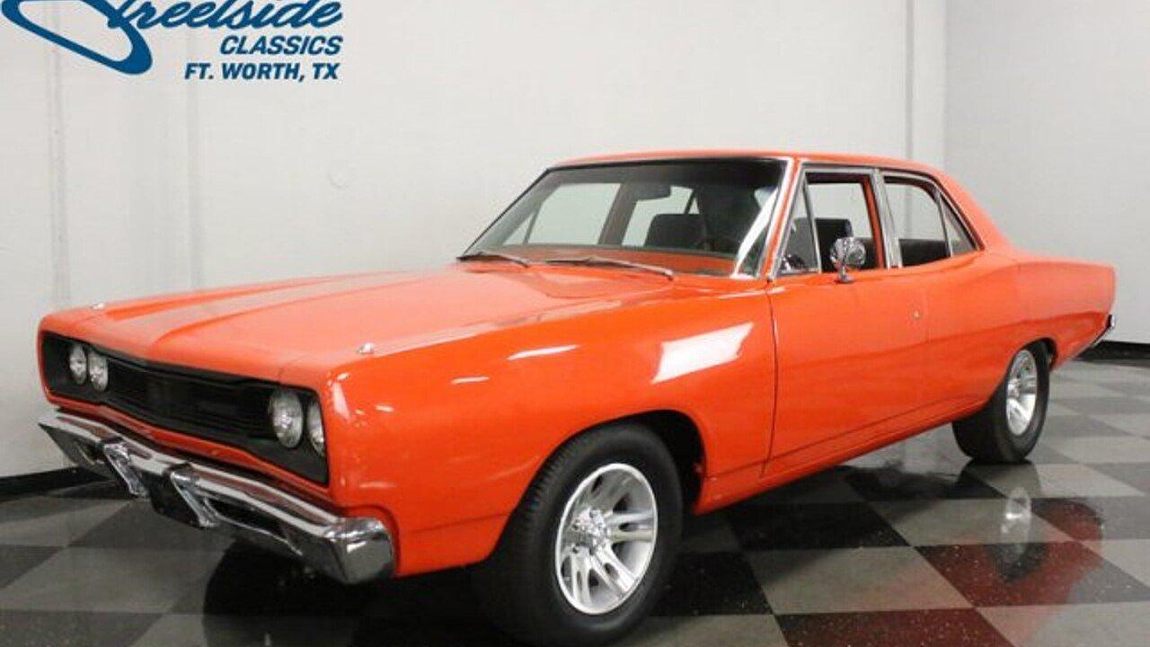 1969 Dodge Coronet for sale near Fort Worth, Texas 76137 ...