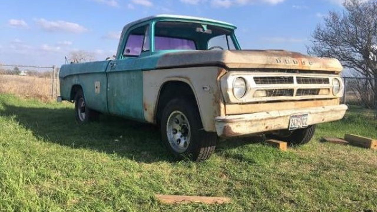1969 Dodge D/W Truck for sale 100882158