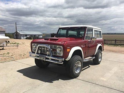1969 Ford Bronco for sale 100875063