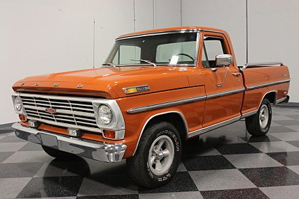 1969 Ford F100 for sale 100760427