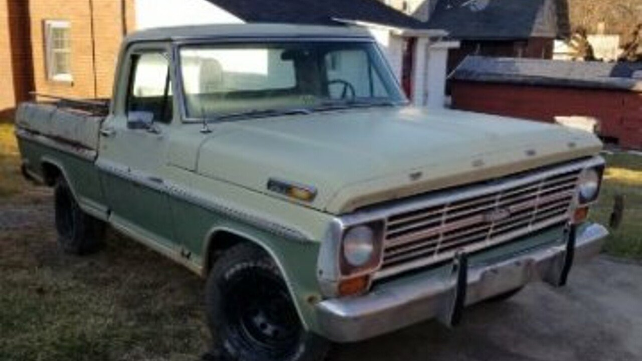 1969 Ford F100 for sale 100943868