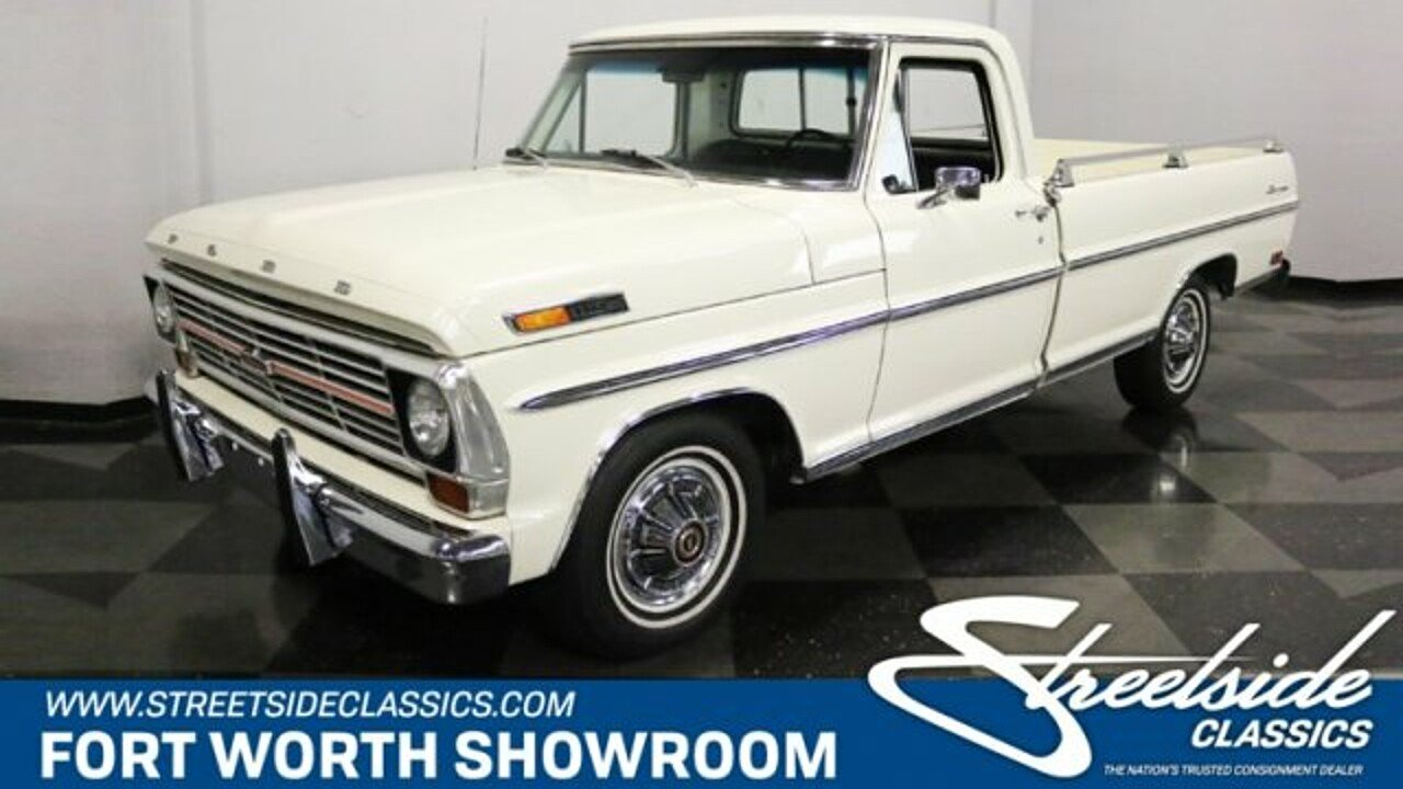 1969 Ford F100 for sale near Fort Worth, Texas 76137 - Classics on ...