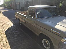 1969 Ford F100 2WD Regular Cab for sale 100888077