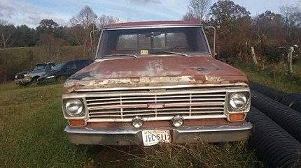 1969 Ford F100 for sale 100928385