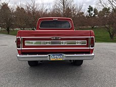 1969 Ford F100 2WD Regular Cab for sale 100982152