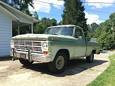 1969 Ford F100 2WD Regular Cab for sale 101012446