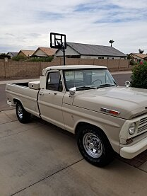 1969 Ford F250 2WD Regular Cab for sale 101034348