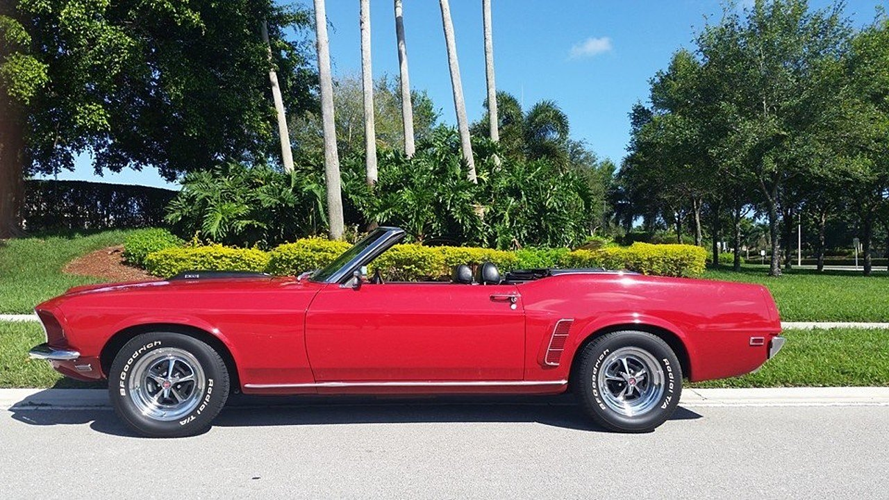 1969 Ford Mustang Convertible for sale near Lake worth, Florida ...